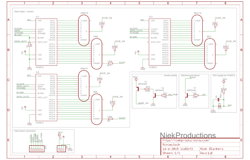 Top board schematic