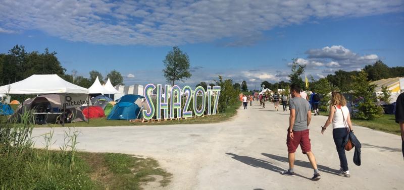 SHA2017 impression. Image: Waag, CC BY-NC-ND.